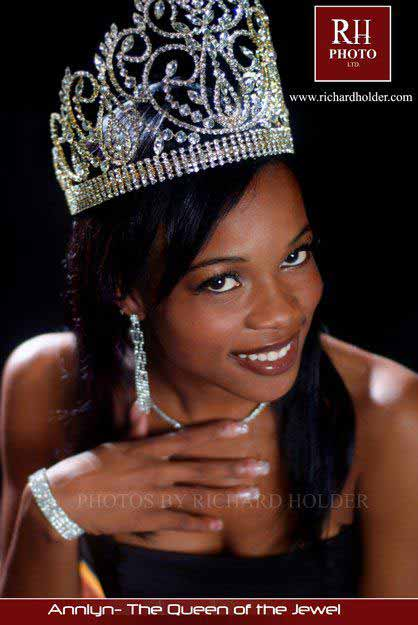 Chantae Chanice Guy - Miss World Belize 2012