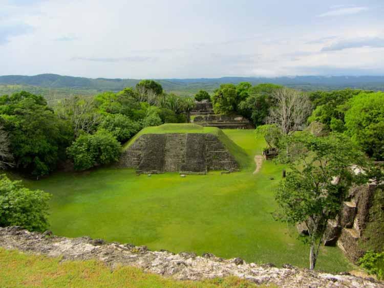The Pyramids of Xunantunich