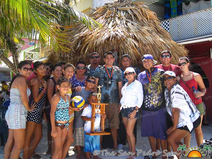 San Pedro boys win OW Volleyball Tournament | Sports | Ambergris