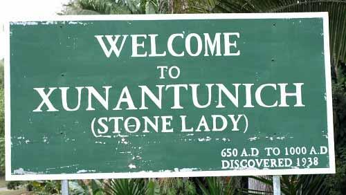 Enter Xunantunich