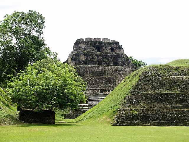 Xunantunich Maya Temple in Belize
