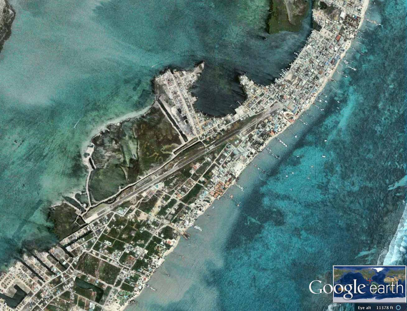 FLIGHT FROM BELIZE CITY TO AMBERGRIS CAYE BY AIR & RETURN FLIGHT FROM AMBERGRIS CAYE TO BELIZE CITY