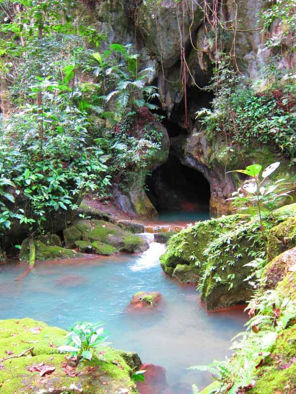 ATM Cave Entrance in Western Belize