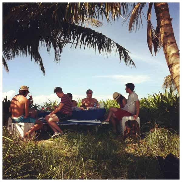 beach picnic