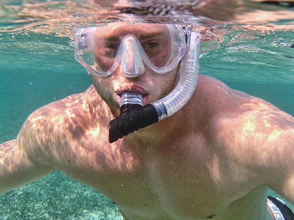 Me snorkeling!