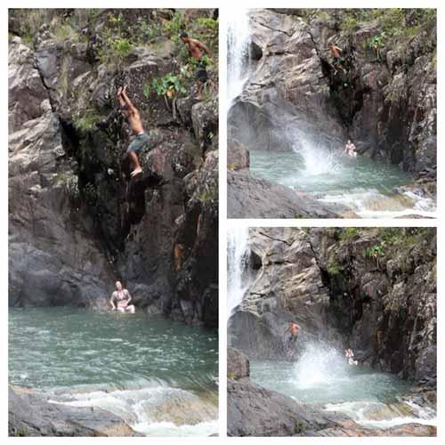 big rock falls belize