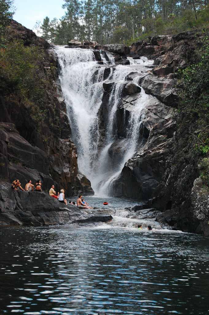 Big Rock Falls Mountain Pine Ridge Belize