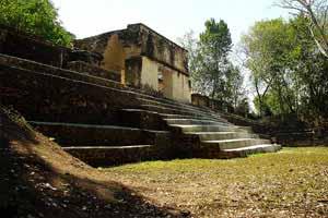 Cahal Pech Maya Ruins San Ignacio Town Belize