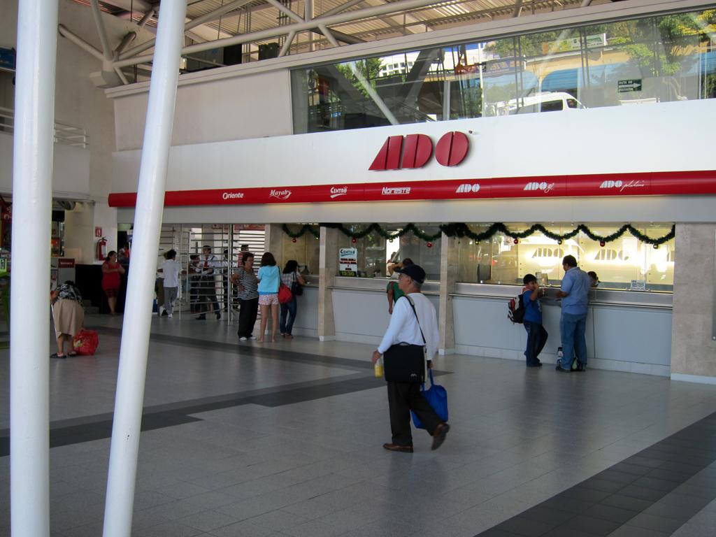 Cancun Bus Terminal