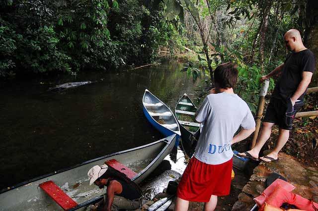 canoeing adventures in belize
