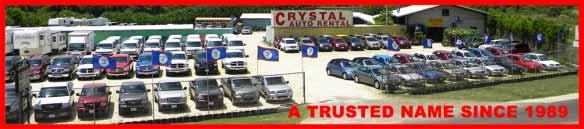 Crystal Auto Rental- Belize