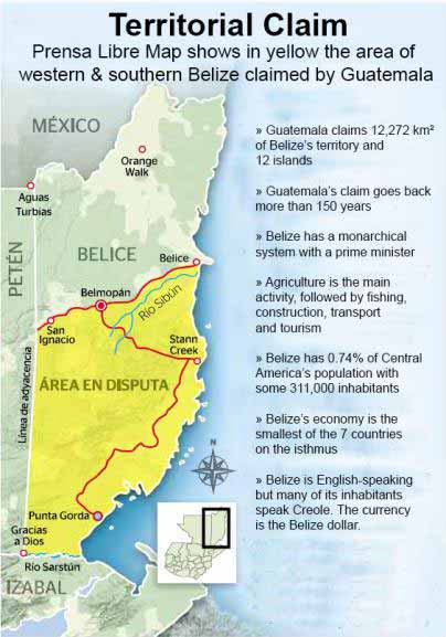 the anglo guatemalan dispute essay The border dispute between belize and guatemala is one  background of the  dispute and the history of maya migration in the  pk menon, the anglo- american territorial dispute over the colony of belize (british.