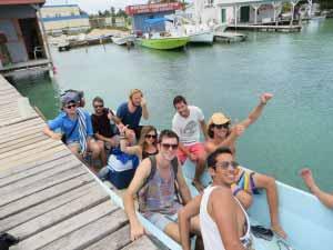 Snorkeling crew.