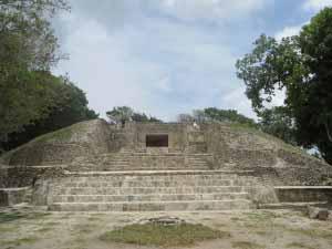 Santa Rita ruins in Corozal.
