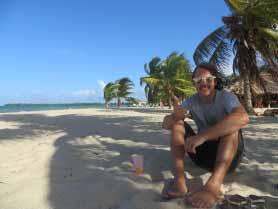 Placencia Beach.