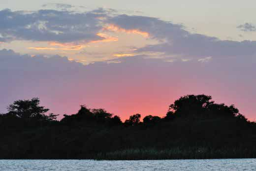 Lamanai Sunset