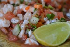 Lily's Shrimp Ceviche