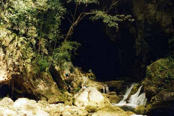 Maya cave Belize