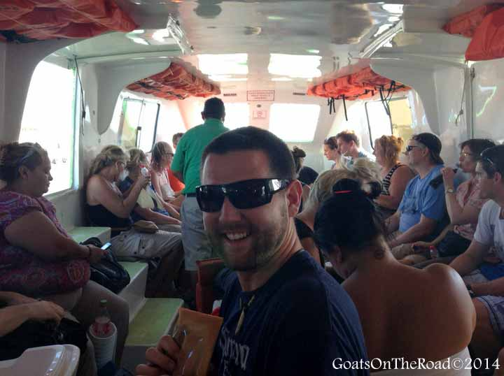 boat from chetumal to caye caulker