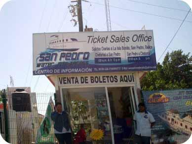 san pedro water taxi