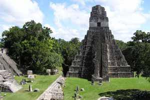 Tikal Maya Ruins
