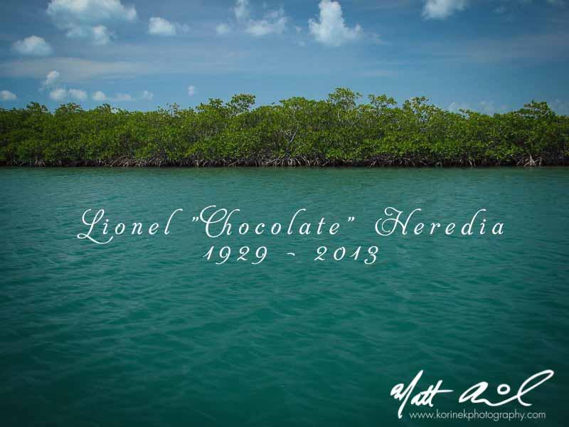 "RIP Lionel ""Chocolate"" Heredia | Swallow Caye Wildlife Sanctuary, Belize | Korinek Photography"