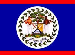 how the flag of belize was designed nat l symbols ambergris caye