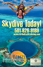 Air Belize Skydiving