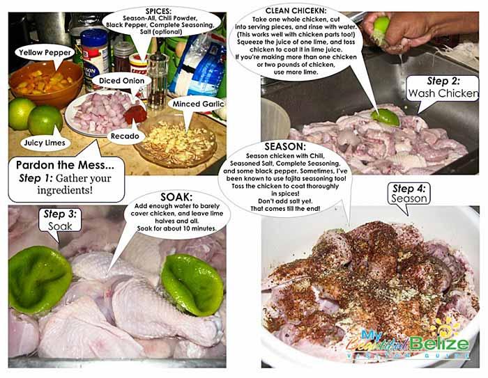 Belize Stewed Chicken-2