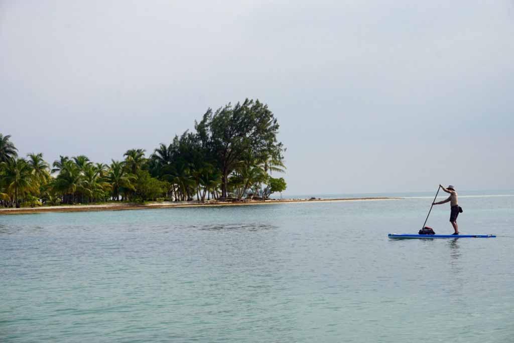Jaime cruising Southwater Caye