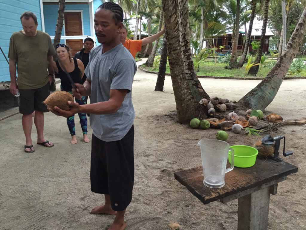 KIMIKE CRACKING THE COCONUT