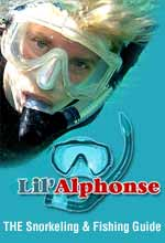 Lil' Alphonse has snorkel equipment to fit anyone as well as Marine Park Tickets and flotation devices to assist those not as experienced.