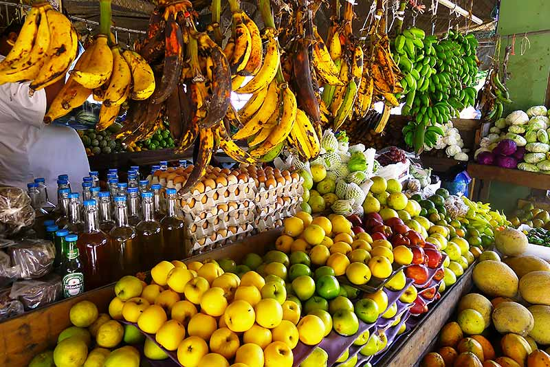 Organic Produce at Market Day in Belize!