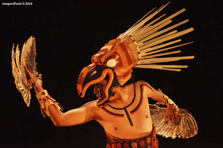"""The Guatemalan Performance Group """"Sotzil"""" – From their play """"Uk'ux Ulew"""" (The Heart of Earth)"""