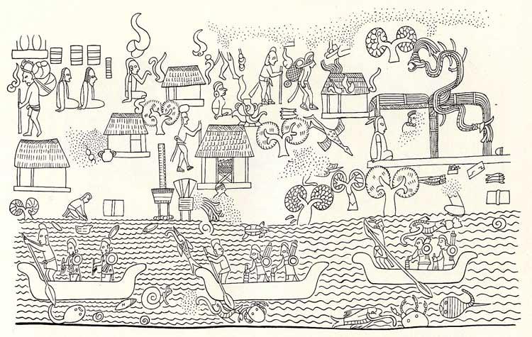 Coastal village life near Chichen Itzá