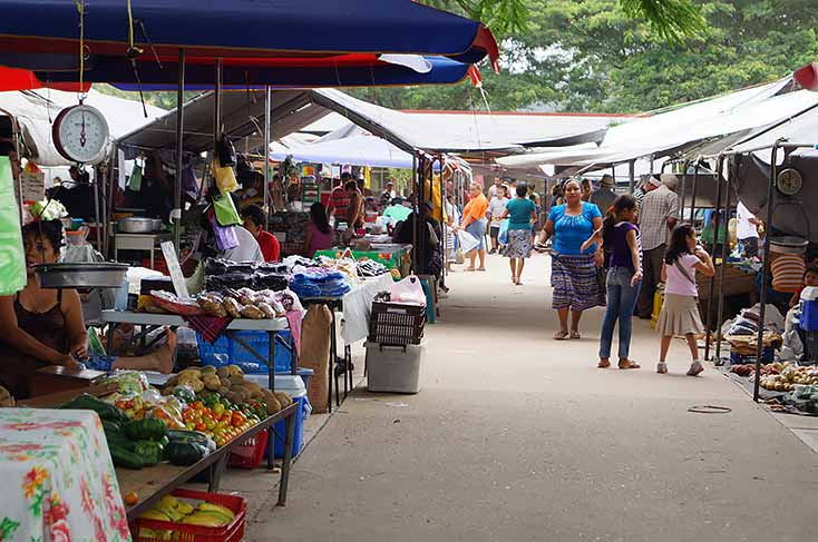 San Ignacio Farmers Market is the biggest in the country of Belize!