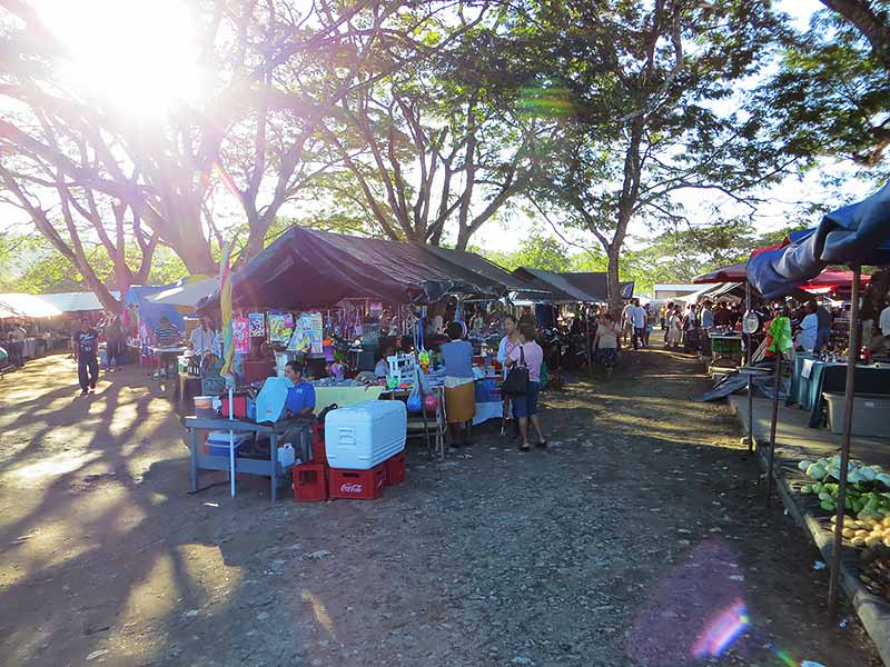 Hundreds of Stalls at Market Day in San Ignacio