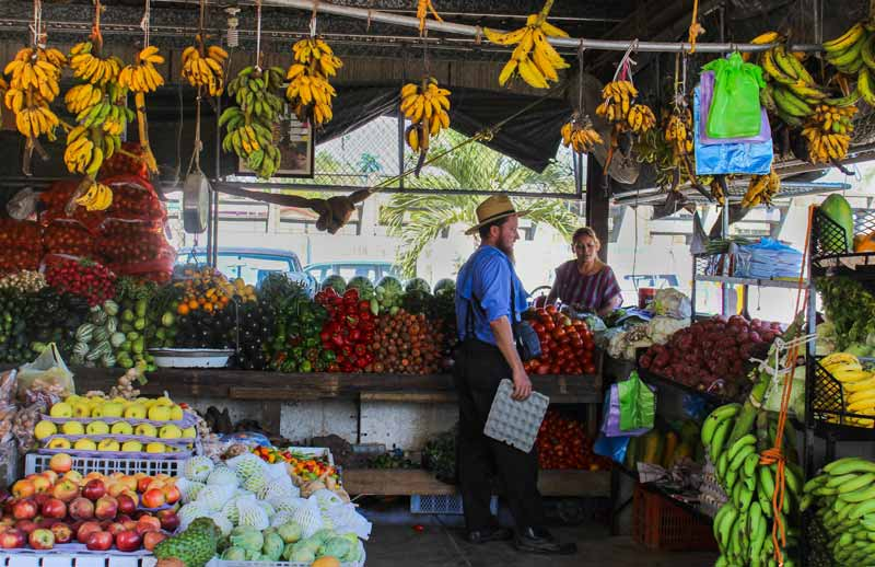 Market Day in San Ignacio is one of the biggest in Belize!