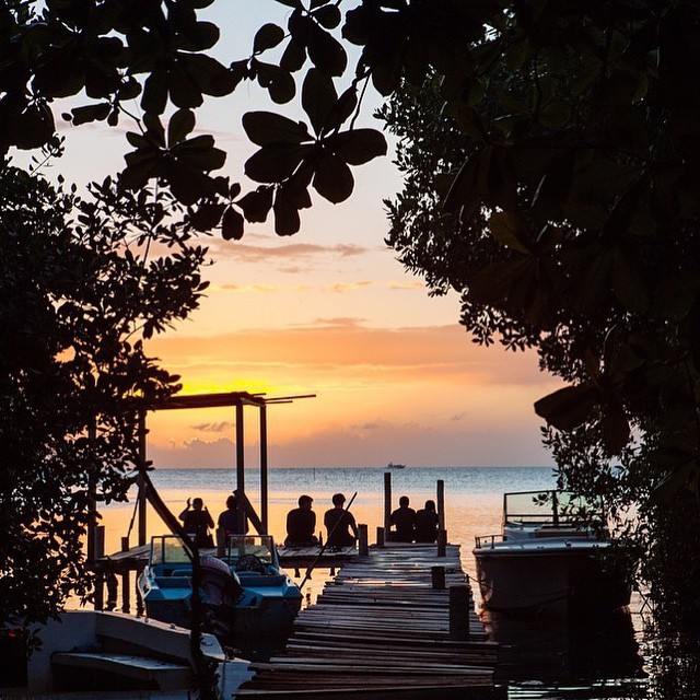 pictures-of-belize-caye-caulker-island-sunset