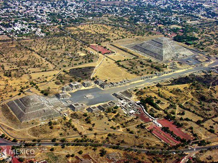 Aerial of Teotihucan  www.pinterest.com