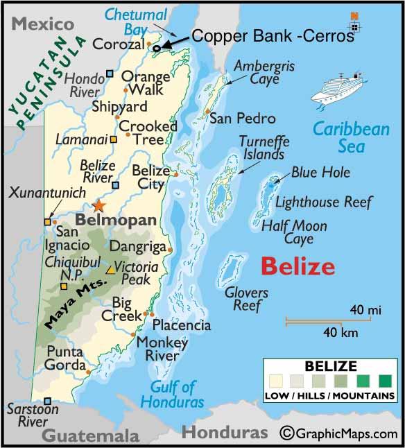 Cerros on the Belize map https-::www.facebook.com:ivis.aceituno