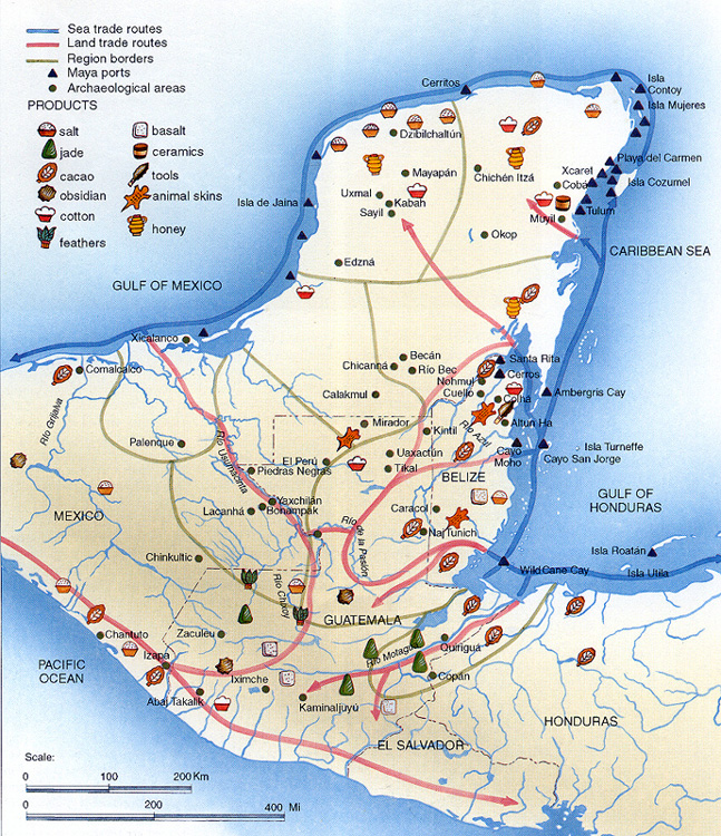 Trade Routes  themayaproject.weebly.com