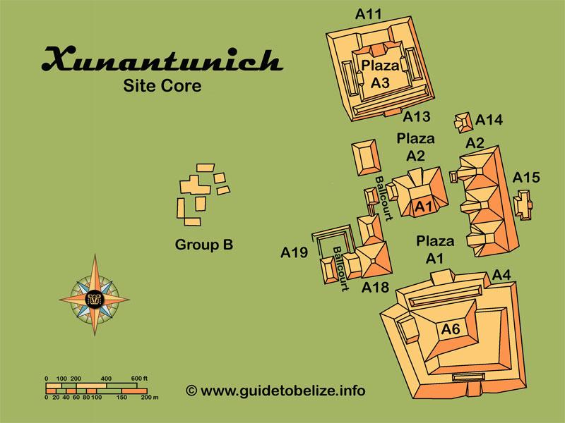 Xunantunich Maya Site   www.guidetobelize.info