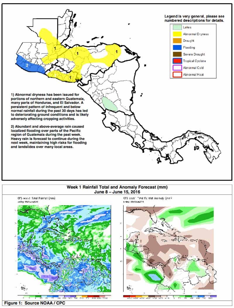 Weekly AgroMet Weather Update NOAA Outlook for CA Ambergris Caye