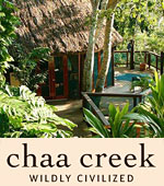 Chaa Creek is an award-winning luxury Belize Resort, rated as one of the worlds best Eco Lodges. We are a pioneer in adventure travel to Belize since 1981!