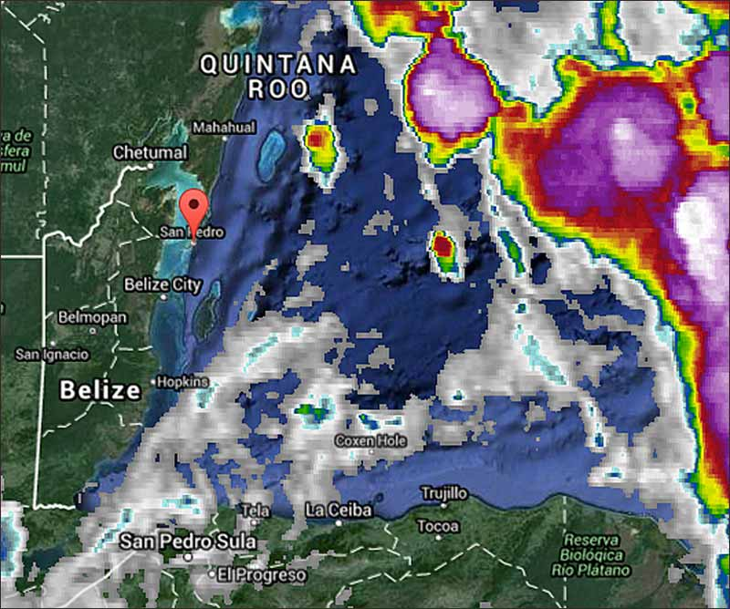 Belize Weather Forecast September 27 2015 Ambergris Caye Belize
