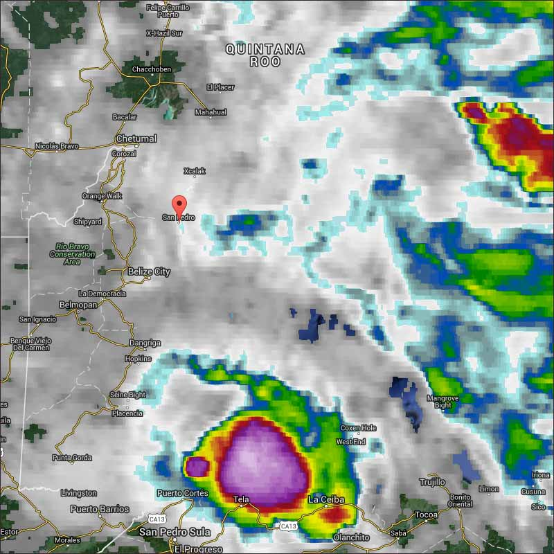 Belize Weather Forecast: October 20, 2015   Ambergris Caye Belize