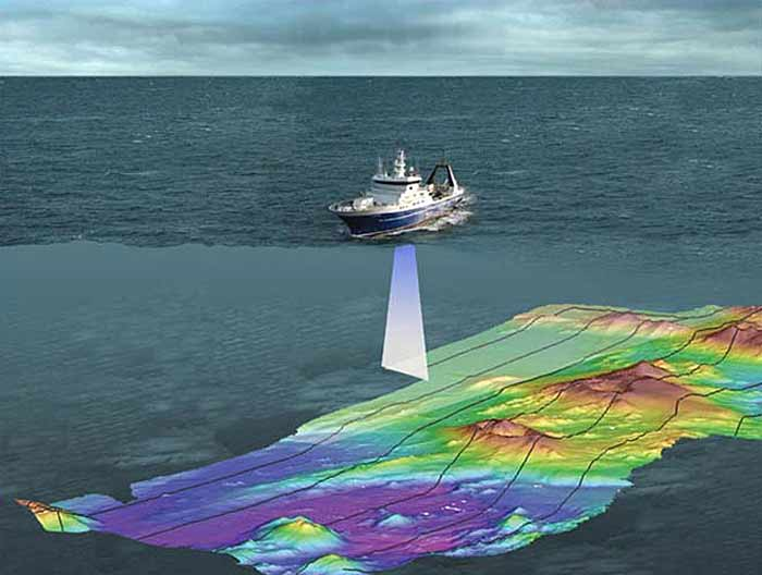 Marine Multibeam And Sea Seep Survey Ambergris Caye