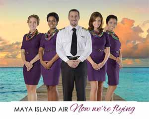 Click for the Maya Island Air website!