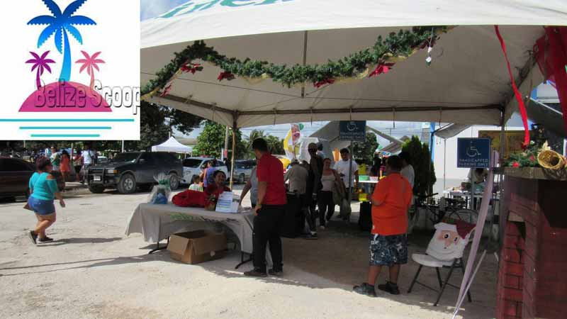 The Corozal Belize Bank Business Expo 2018 Was Held In Front Of Branch Office Event Saw There Street Lane Closed For Traffic As
